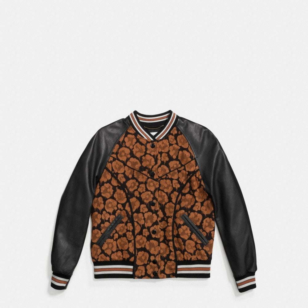 Coach Shrunken Wild Beast Jacket Alternate View 1