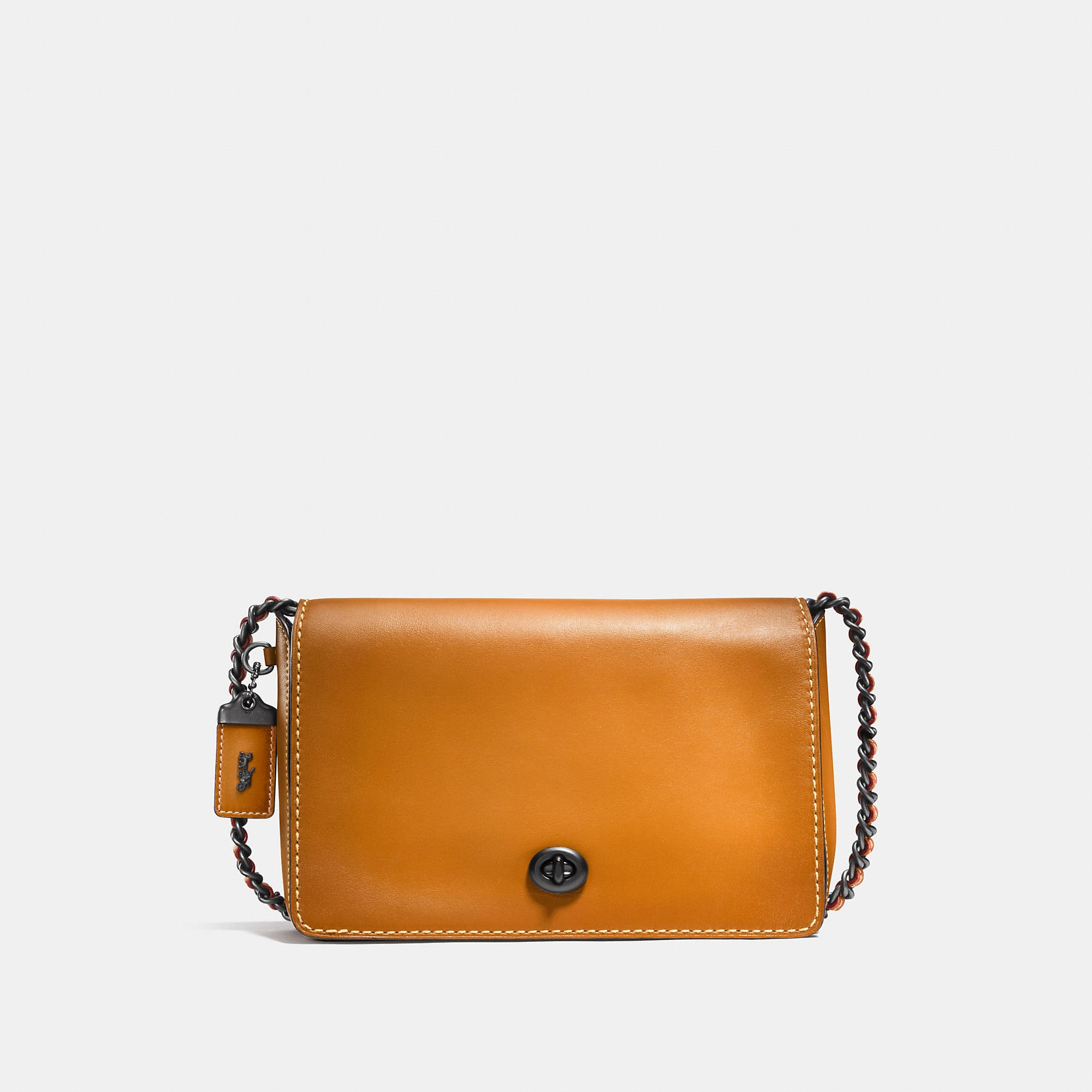 Coach Dinky Crossbody 24 In Glovetanned Leather