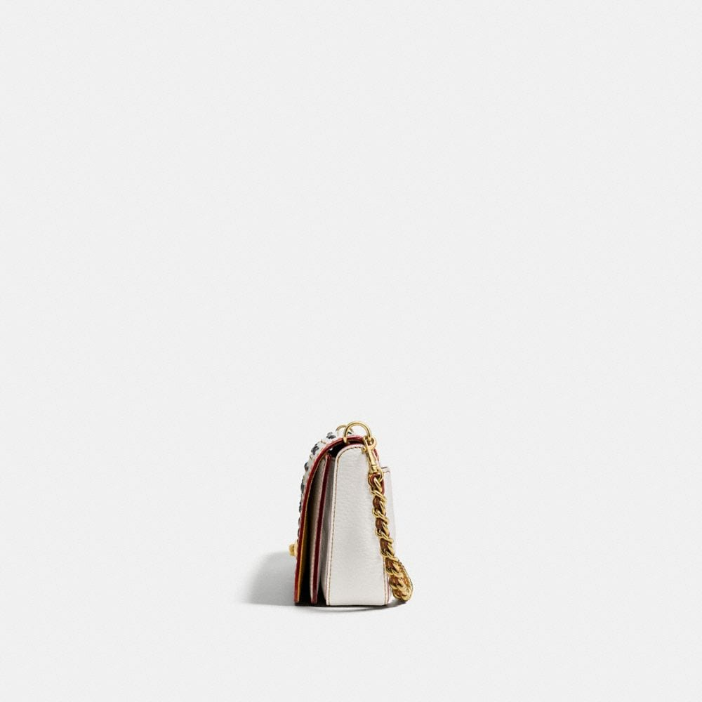 RIVETS DINKY CROSSBODY IN PEBBLE LEATHER - Autres affichages A1