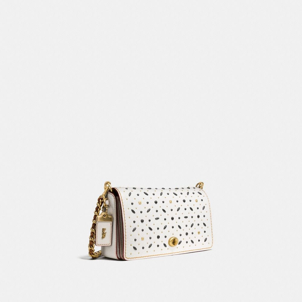 RIVETS DINKY CROSSBODY IN PEBBLE LEATHER - Autres affichages A2