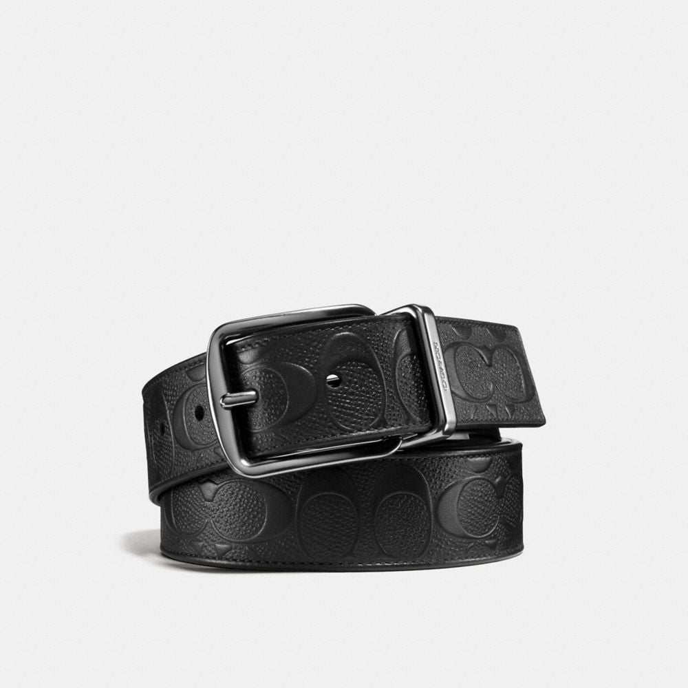 Coach Wide Harness Cut-To-Size Reversible Belt in Signature Leather