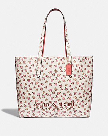 HIGHLINE TOTE WITH FLORAL PRINT ... 62ecd23c3be5b