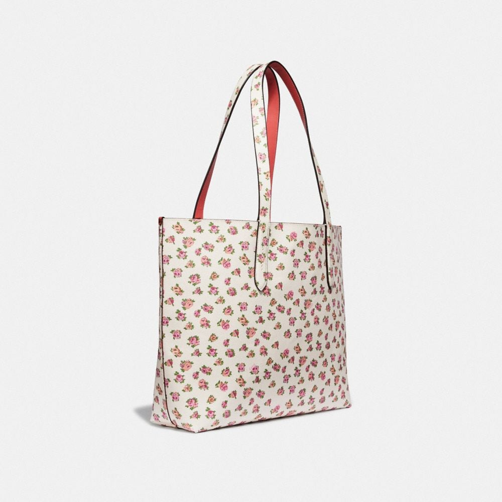 Coach Highline Tote With Floral Print Alternate View 1