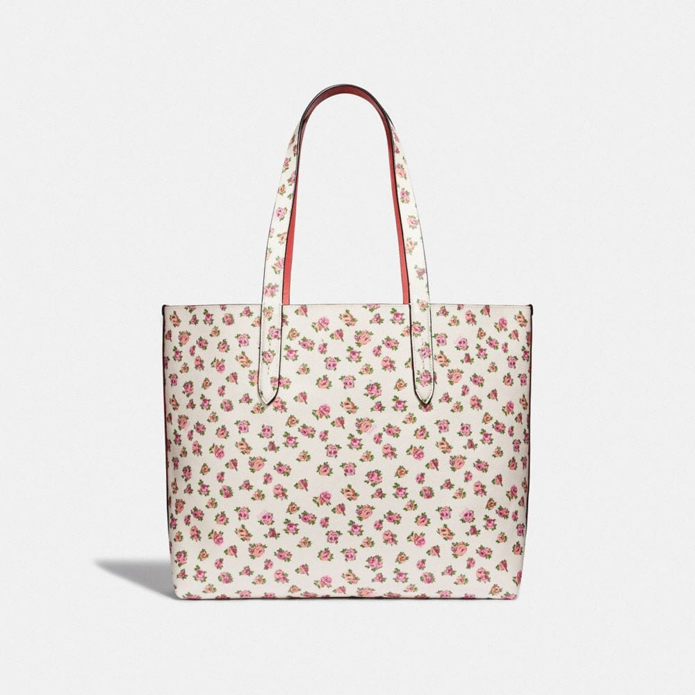 Coach Highline Tote With Floral Print Alternate View 2