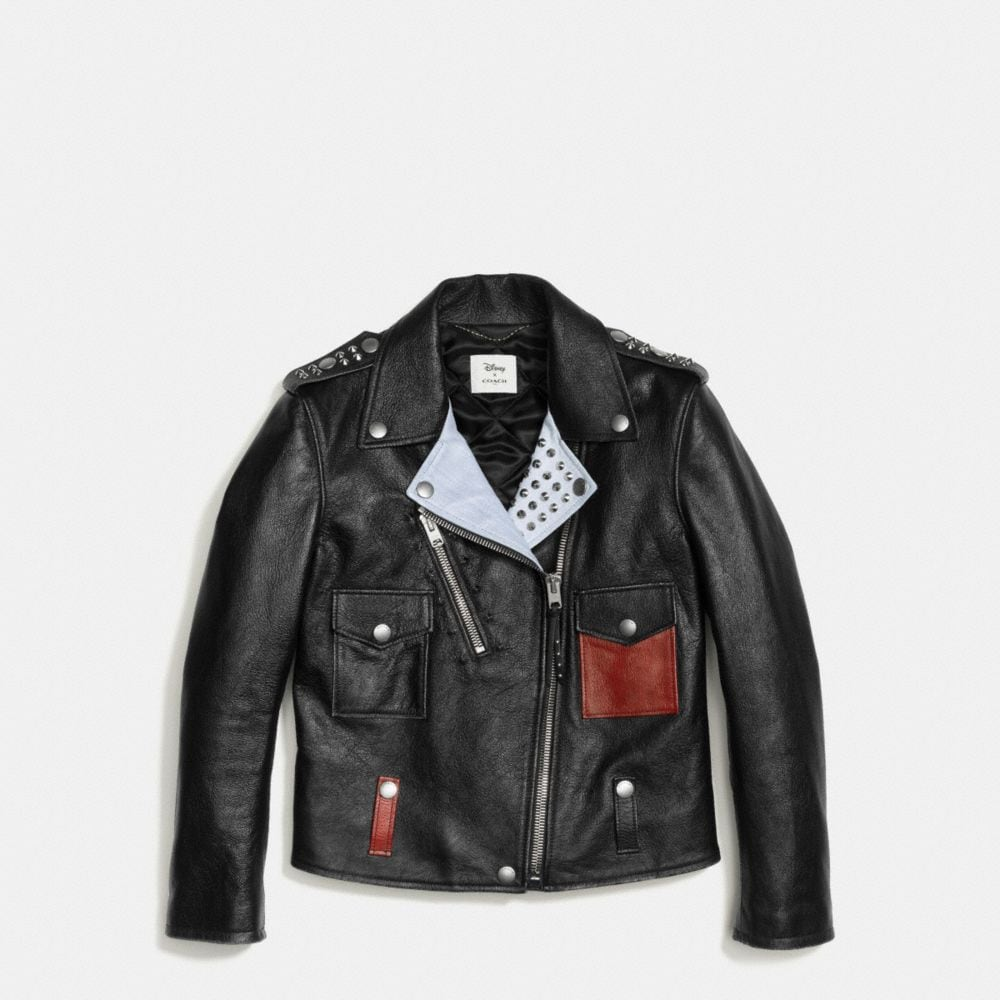 Coach Mickey Moto Jacket