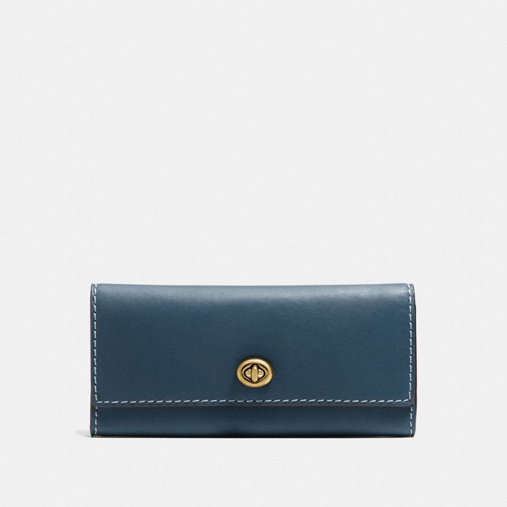 Coach Turnlock Wallet