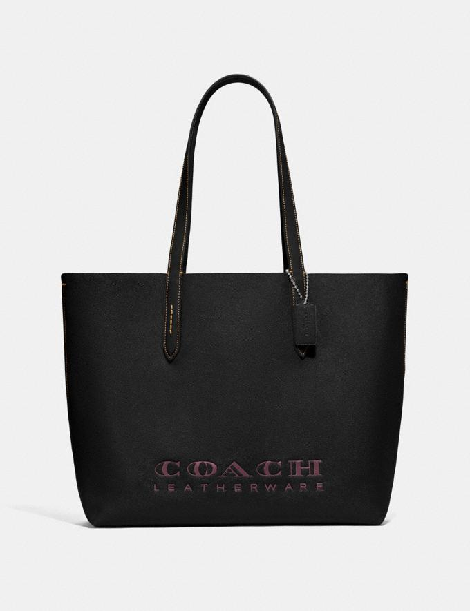 Coach Highline Tote Black/Gold New Featured Online Exclusives