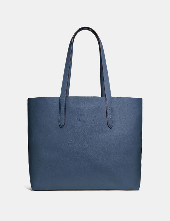 Coach Highline Tote Dark Denim/Silver Personalise Personalise It Monogram For Her Alternate View 2