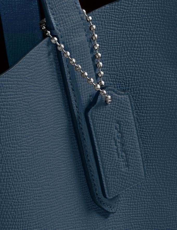 Coach Highline Tote Dark Denim/Silver Personalise Personalise It Monogram For Her Alternate View 5