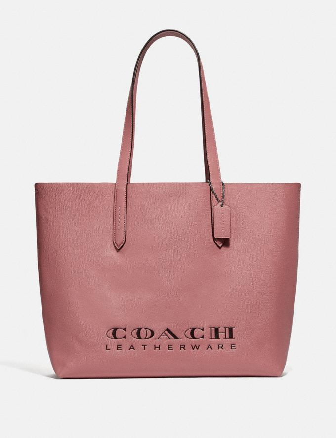 Coach Highline Tote Light Blush/Silver Women Bags Totes