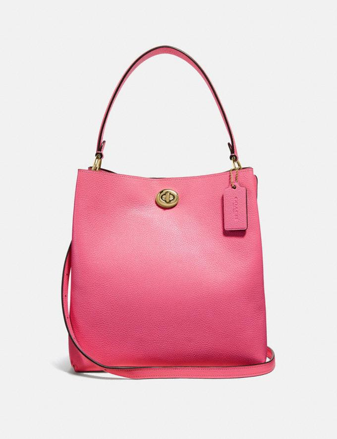 Coach Charlie Bucket Bag Brass/Confetti Pink Gifts For Her Mother's Day Gifts