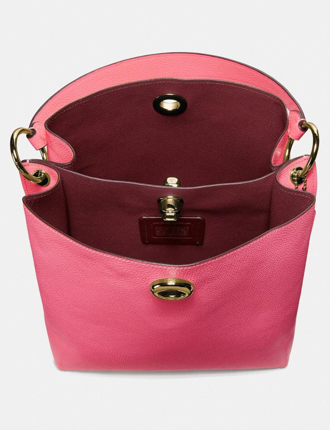 Coach Charlie Bucket Bag Brass/Confetti Pink Gifts For Her Mother's Day Gifts Alternate View 2
