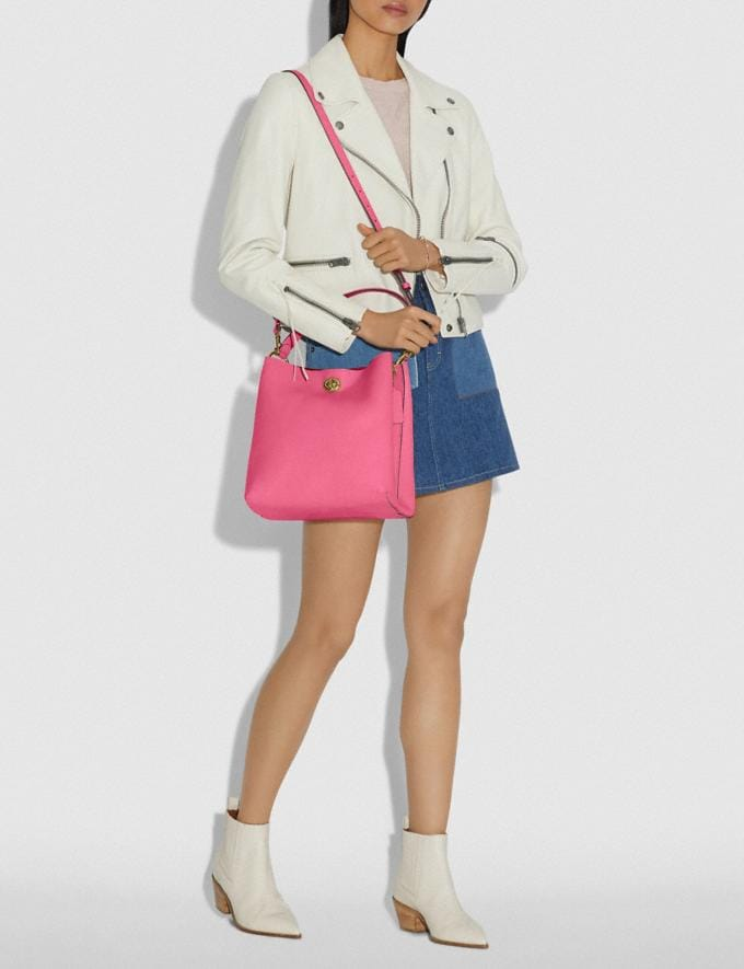 Coach Charlie Bucket Bag Brass/Confetti Pink Gifts For Her Mother's Day Gifts Alternate View 3