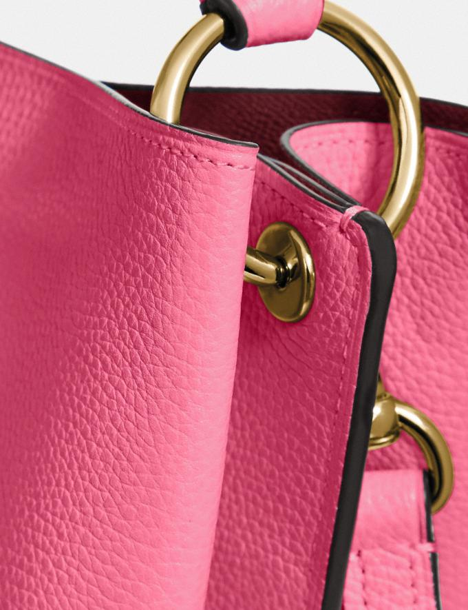 Coach Charlie Bucket Bag Brass/Confetti Pink Gifts For Her Mother's Day Gifts Alternate View 4