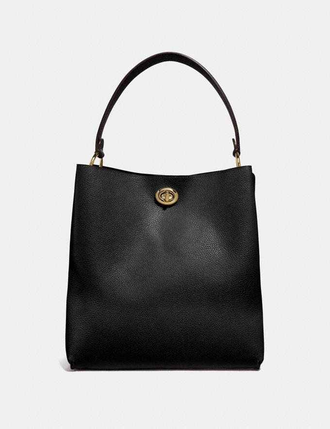 Coach Charlie Bucket Bag Black/Gold SALE Online Exclusives Alternate View 2