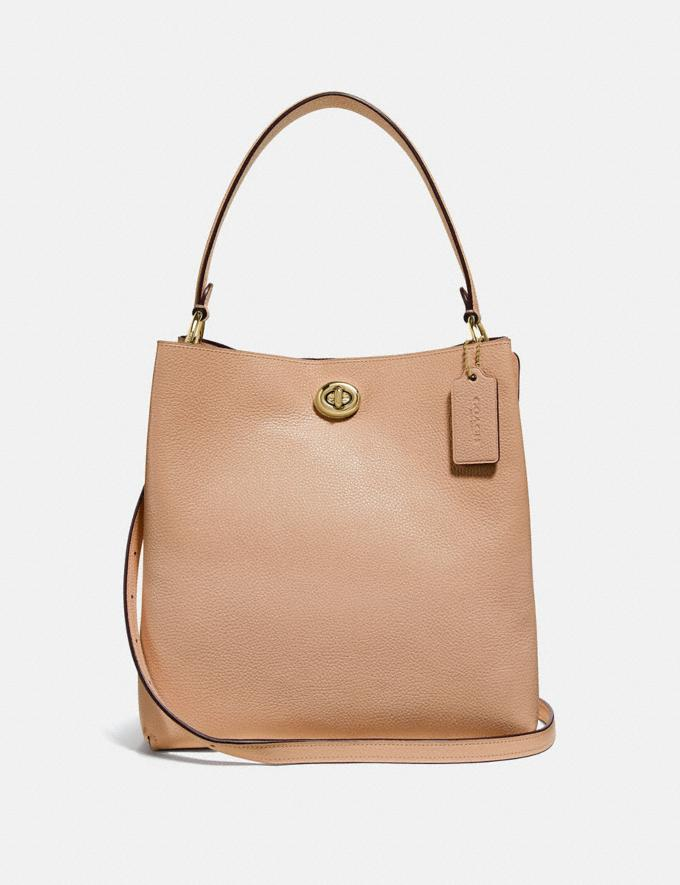 Coach Charlie Bucket Bag Beechwood/Gold New Women's New Arrivals Bags