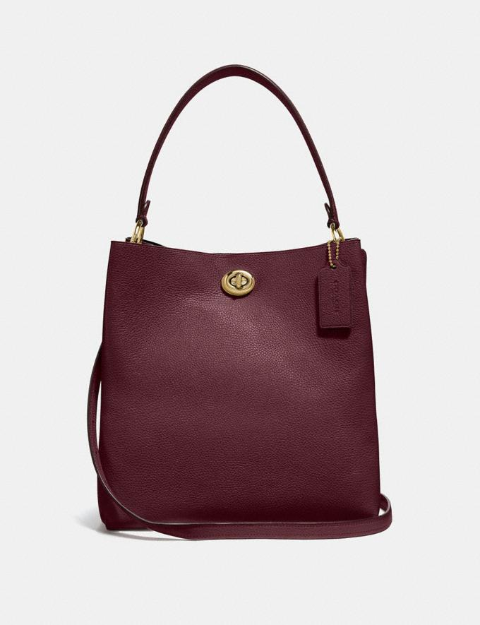 Coach Charlie Bucket Bag Vintage Mauve/Gold Gifts For Her Bestsellers