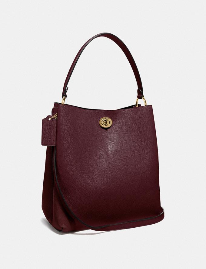 Coach Charlie Bucket Bag Vintage Mauve/Gold SALE Ready, Set, Holiday Event Women's Alternate View 1