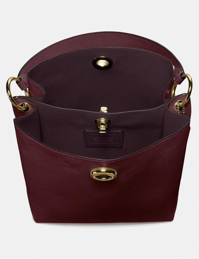 Coach Charlie Bucket Bag Vintage Mauve/Gold Gifts For Her Bestsellers Alternate View 2