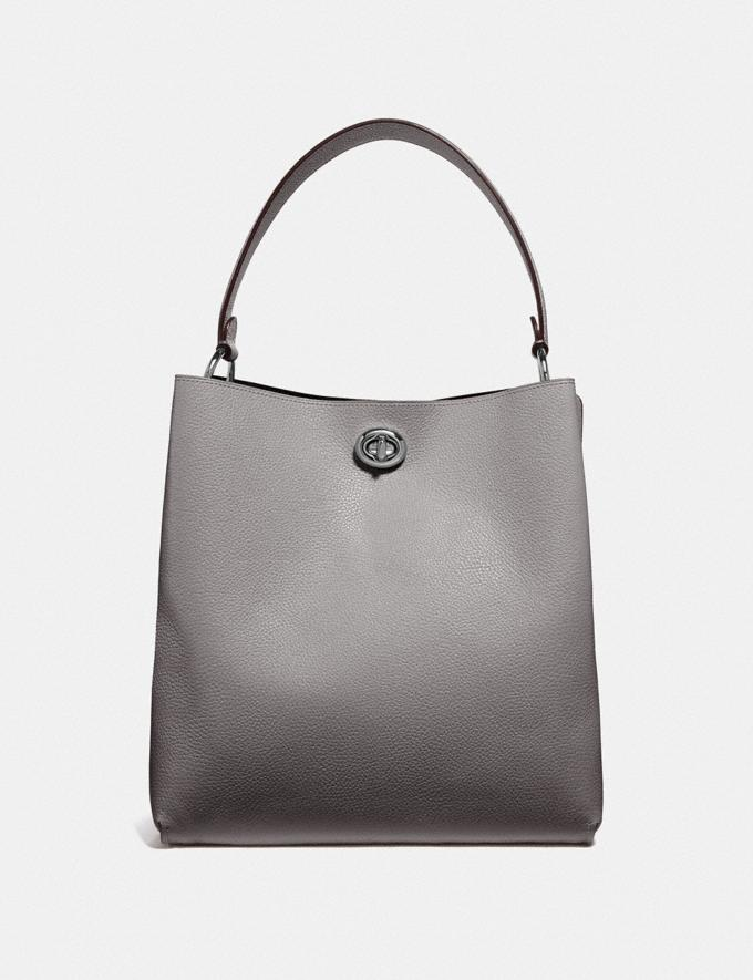 Coach Charlie Bucket Bag Gunmetal/Heather Grey Personalise For Her Bags Alternate View 2