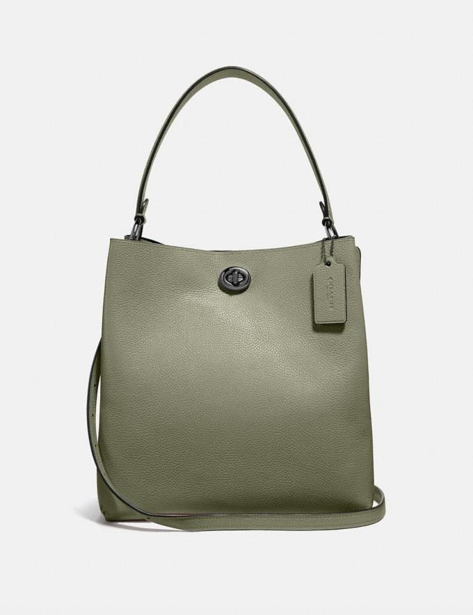 Coach Charlie Bucket Bag V5/Light Fern Women Bags Satchels