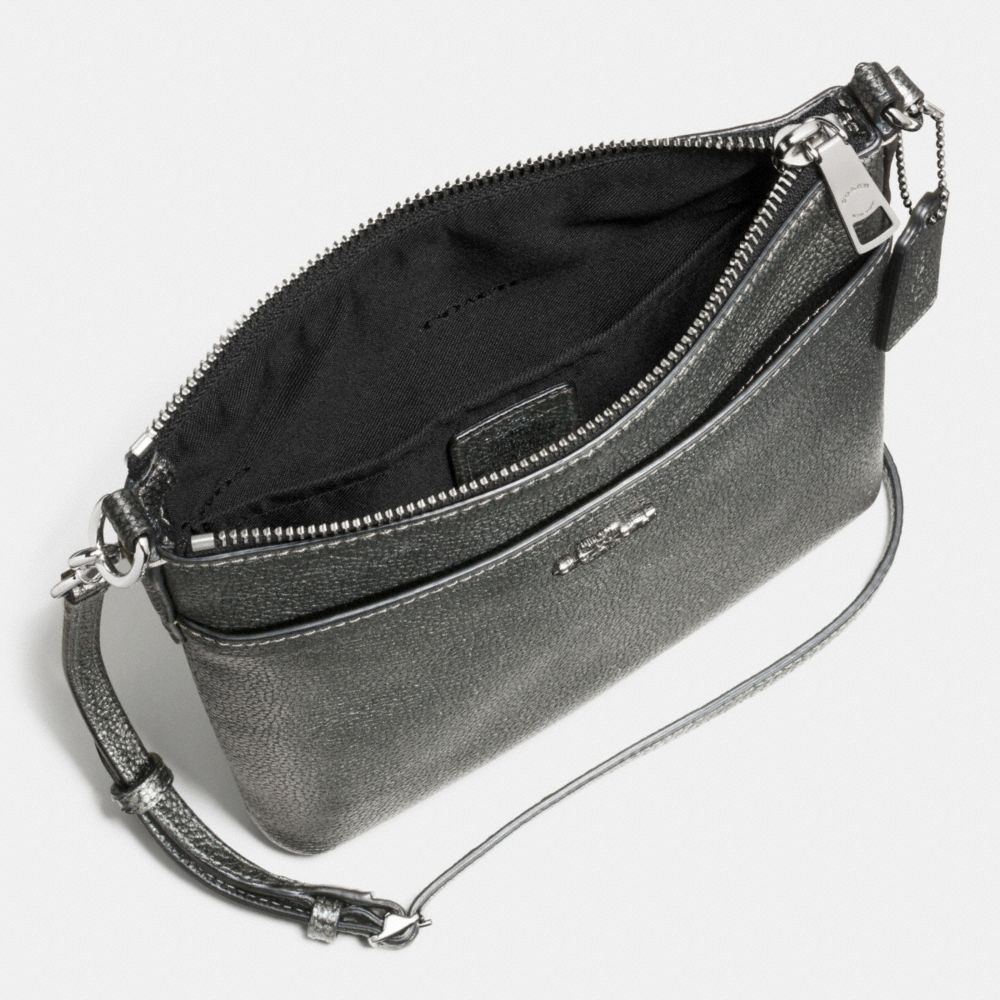 Courier Crossbody in Polished Pebble Leather - Alternate View A1