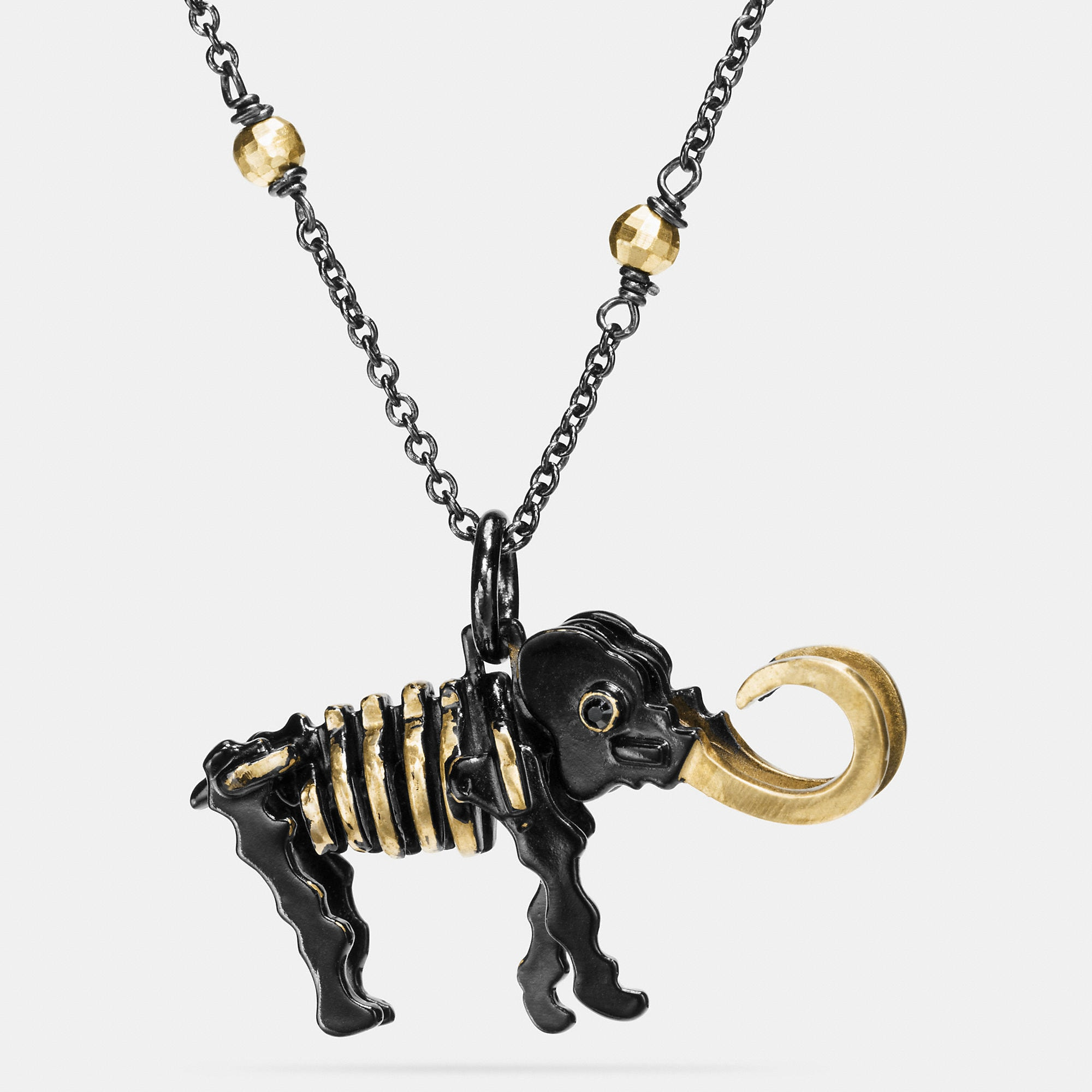 Coach Mammoth Necklace