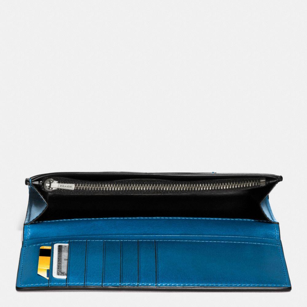Breast Pocket Wallet in Water Buffalo Leather - Alternate View A1