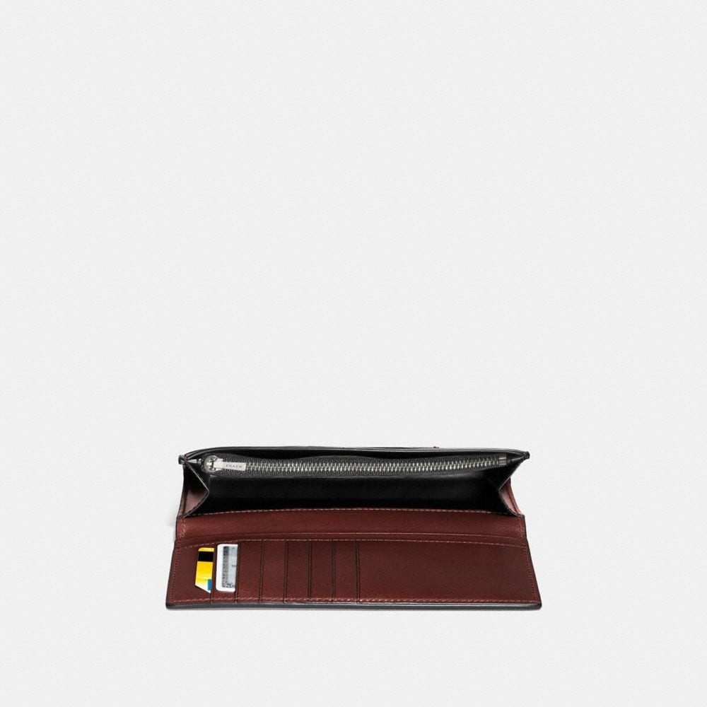 Coach Boxed Breast Pocket Wallet Alternate View 1