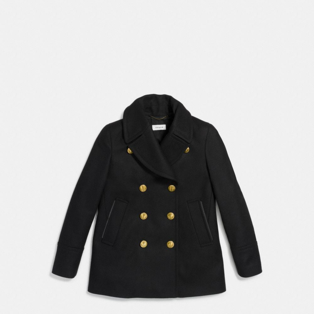 Coach Solid Peacoat Alternate View 1