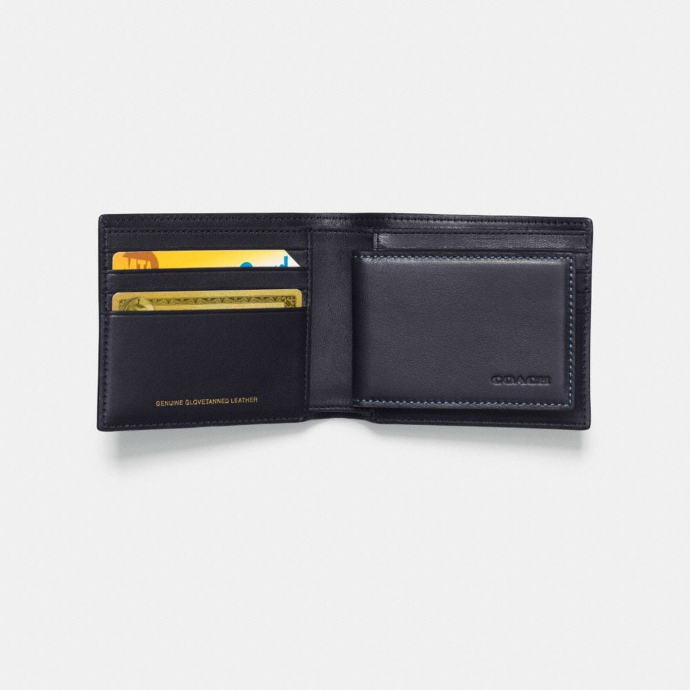 ROCKET SHIP 3-IN-1 WALLET IN GLOVETANNED LEATHER - Alternate View L1