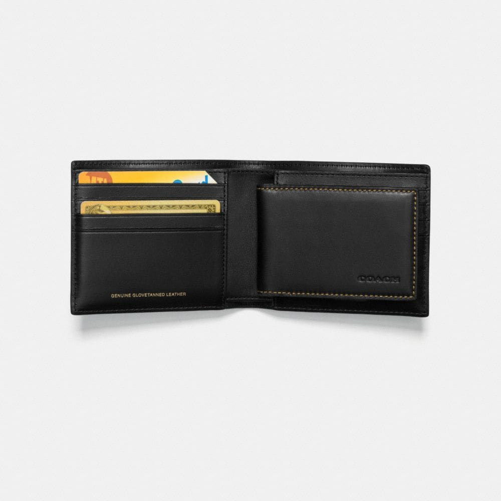 REXY 3-IN-1 WALLET IN GLOVETANNED LEATHER - Autres affichages L1