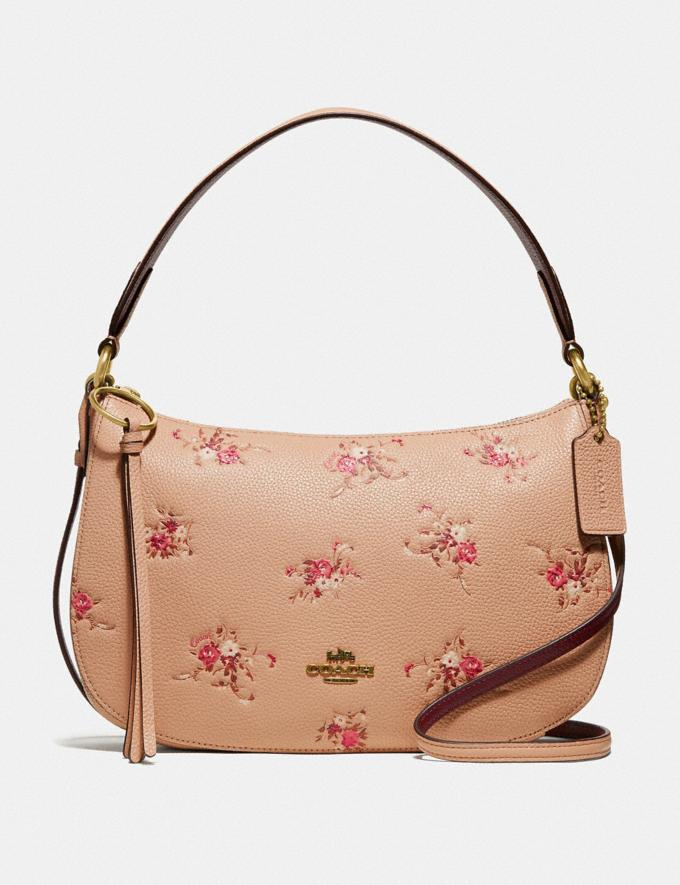 Coach Sutton Crossbody With Floral Print Beechwood New Featured Online-Only