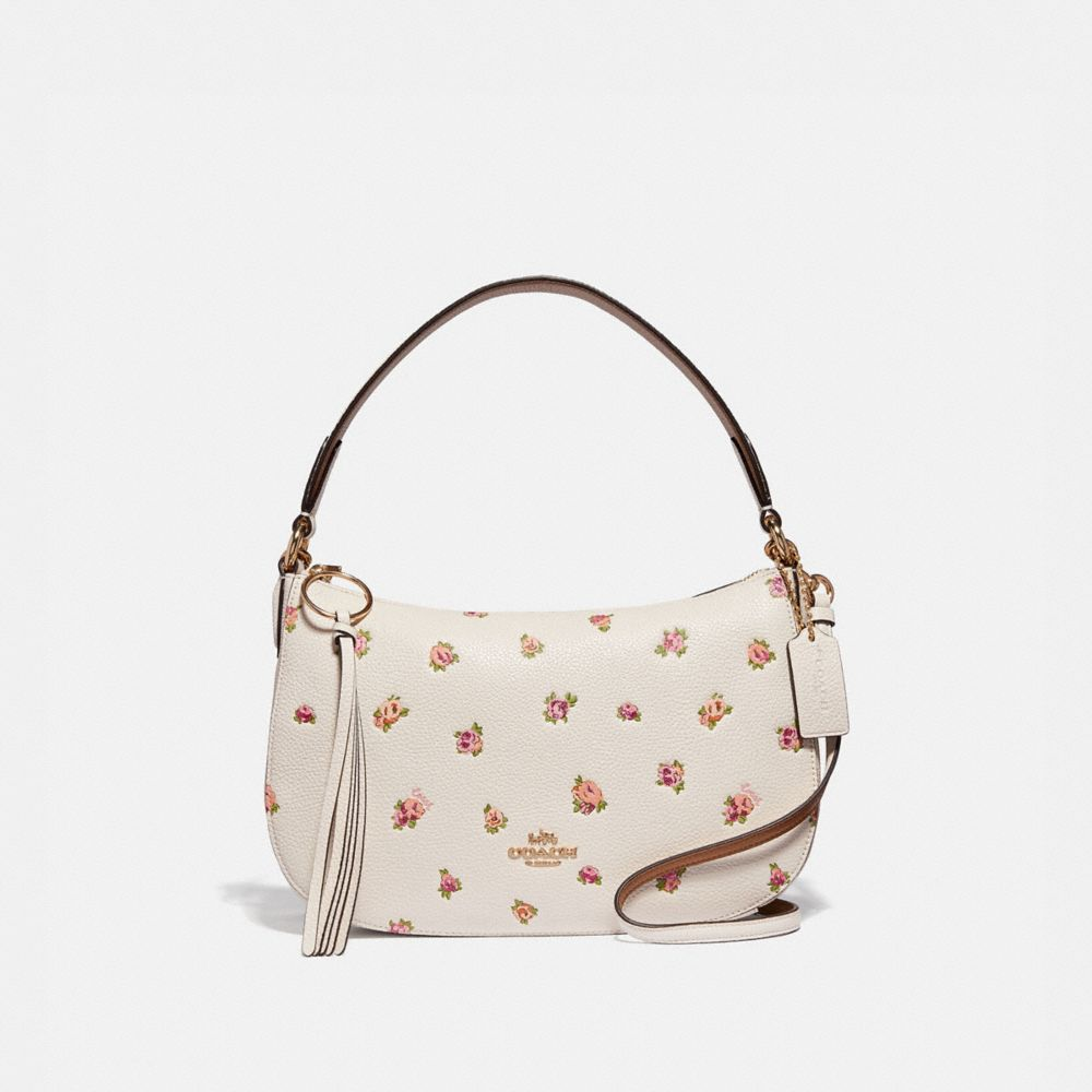 Coach Sutton Crossbody With Floral Print