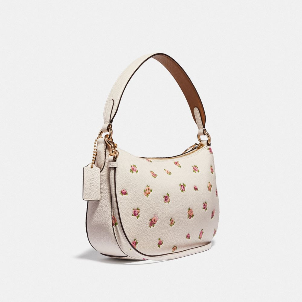 Coach Sutton Crossbody With Floral Print Alternate View 1