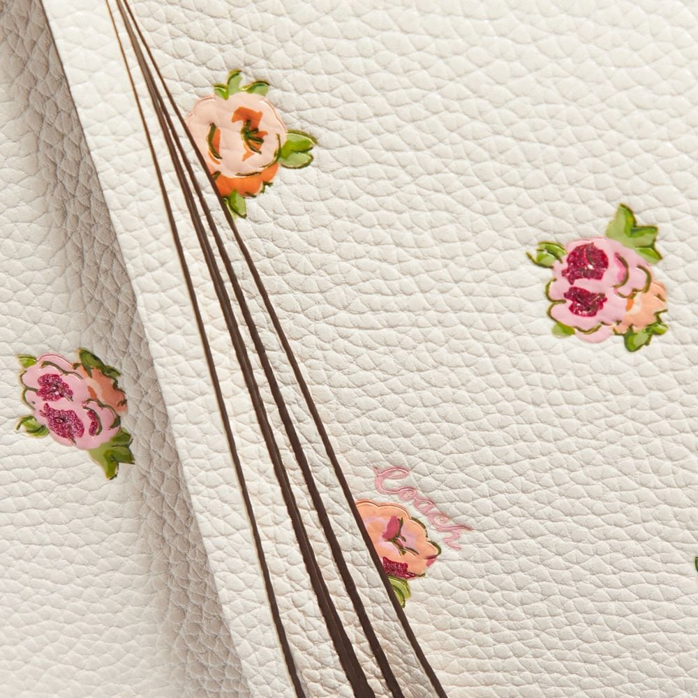 Coach Sutton Crossbody With Floral Print Alternate View 3