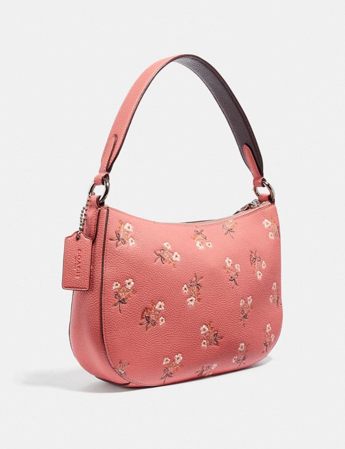 Coach Sutton Crossbody With Floral Print Pink New Featured Online-Only Alternate View 1