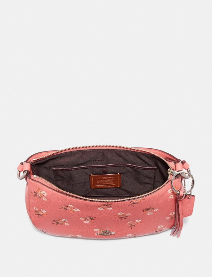 Coach Sutton Crossbody With Floral Print Pink New Featured Online-Only Alternate View 3