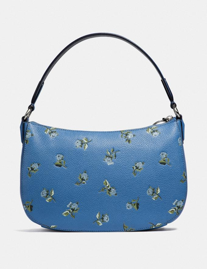 Coach Sutton Crossbody With Floral Print Silver/Slate New Featured Online-Only Alternate View 2