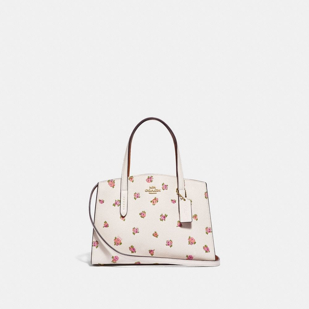 CHARLIE CARRYALL 28 WITH FLORAL PRINT