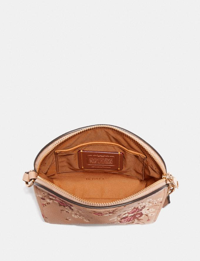 Coach Farrow Crossbody With Floral Print Beechwood/Gold New Featured Online Exclusives Alternate View 2