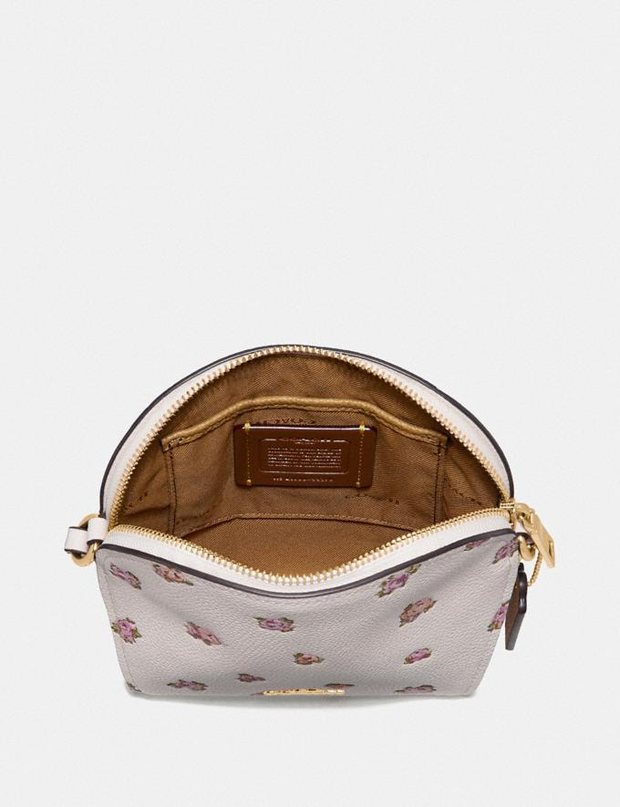 Coach Farrow Crossbody With Floral Print Chalk/Gold New Featured Online Exclusives Alternate View 2