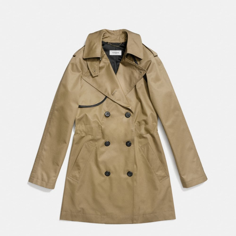Cotton Convertible Trench - Alternate View A1