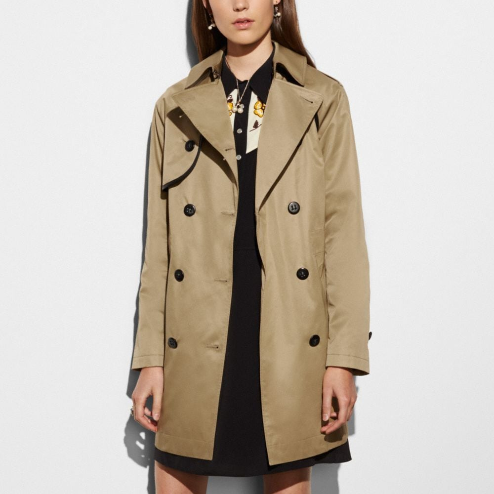 Cotton Convertible Trench - Alternate View M