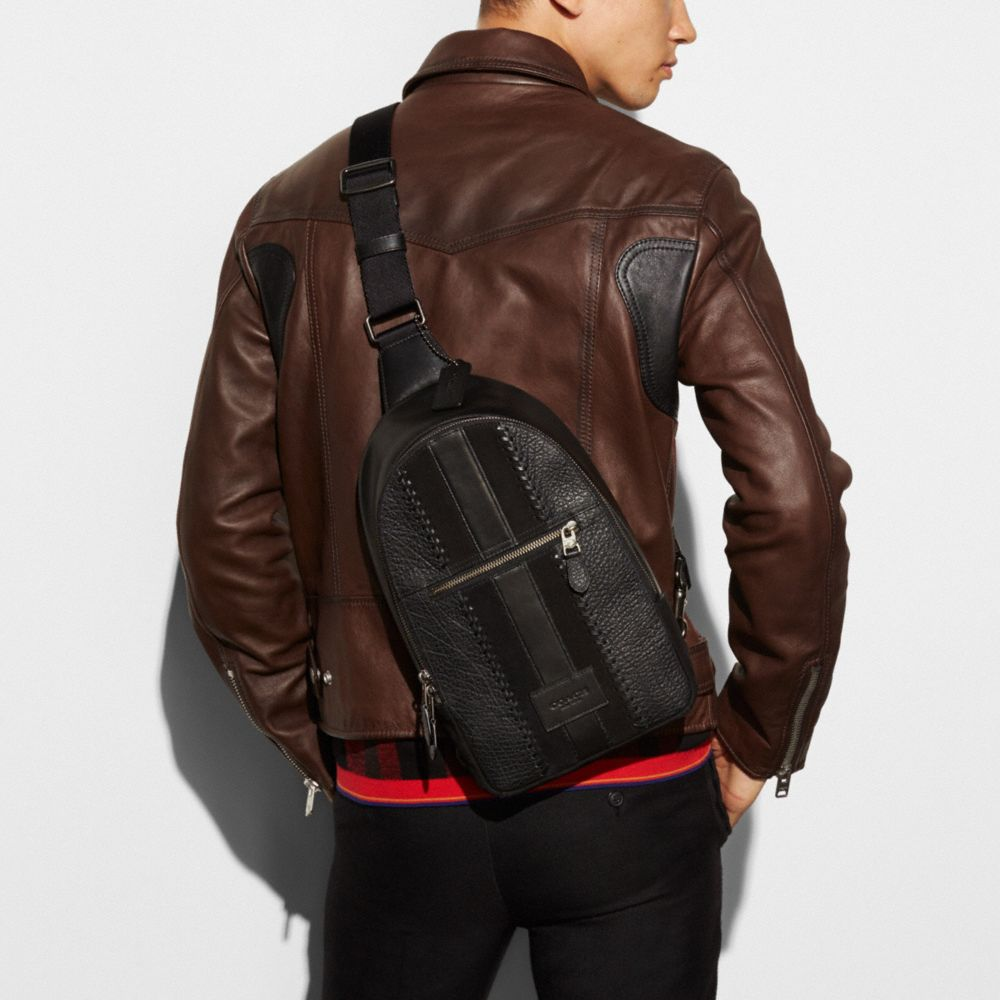Coach Campus Pack Rip and Repair With Varsity Stripe Alternate View 3