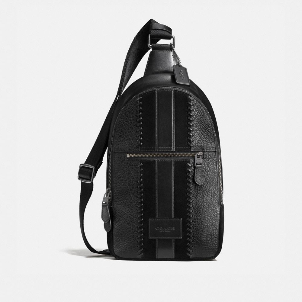 Coach Campus Pack Rip and Repair With Varsity Stripe