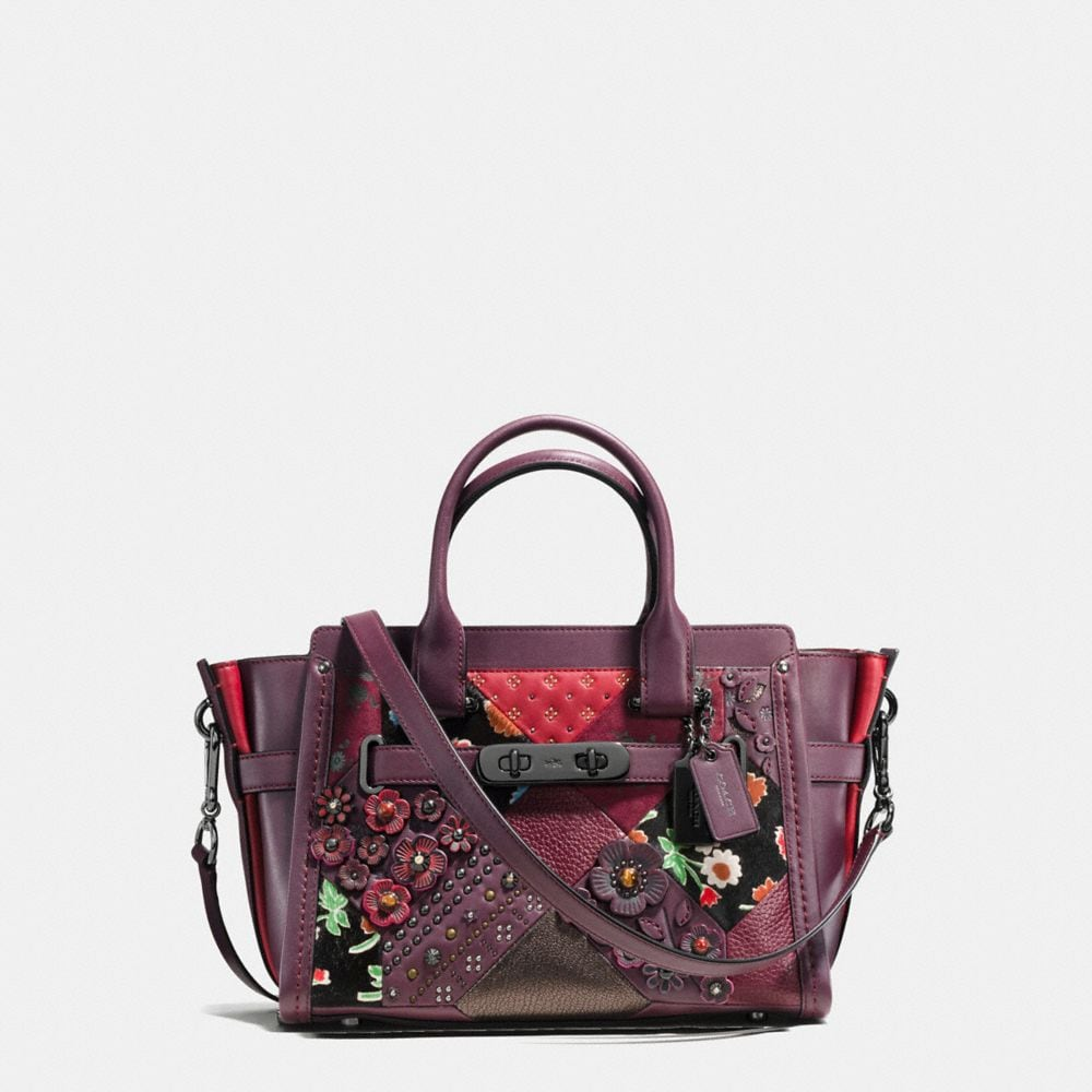 COACH SWAGGER 27 IN EMBELLISHED CANYON QUILT LEATHER