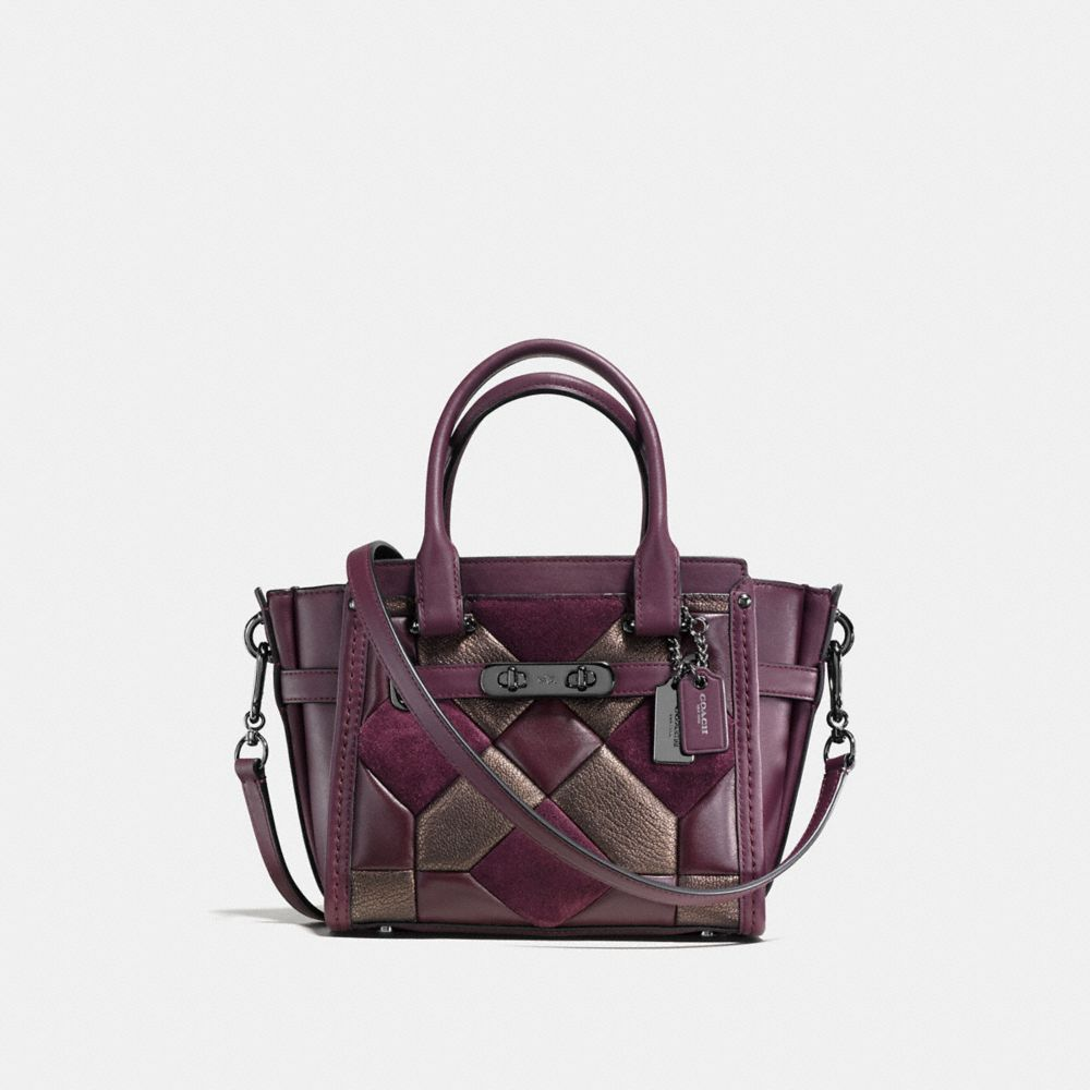 COACH SWAGGER 21 IN MIXED MATERIALS CANYON QUILT