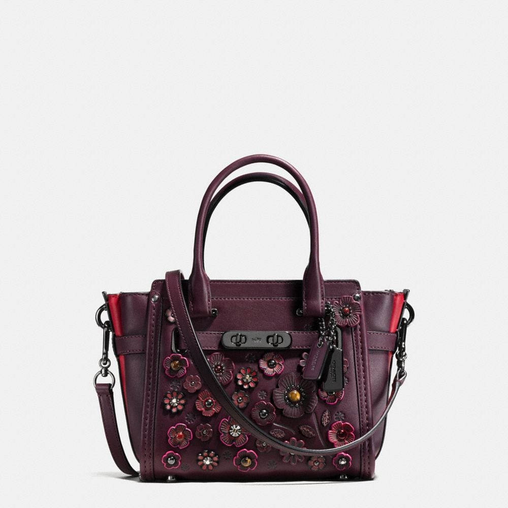 COACH SWAGGER 21 IN WILLOW FLORAL