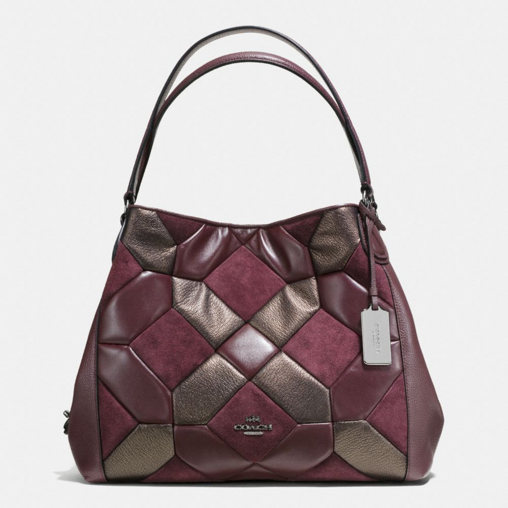 Edie Shoulder Bag 31 in Mixed Materials Canyon Quilt